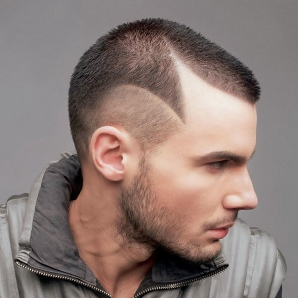 Receding hairline men haircuts