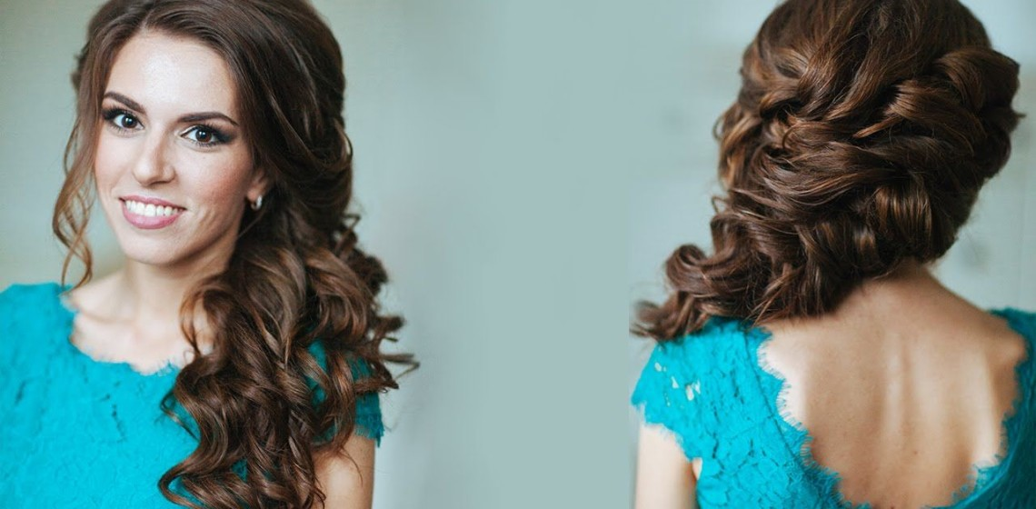 Prom hairstyles with curls