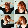 Прически на короткие волосы в домашних условиях