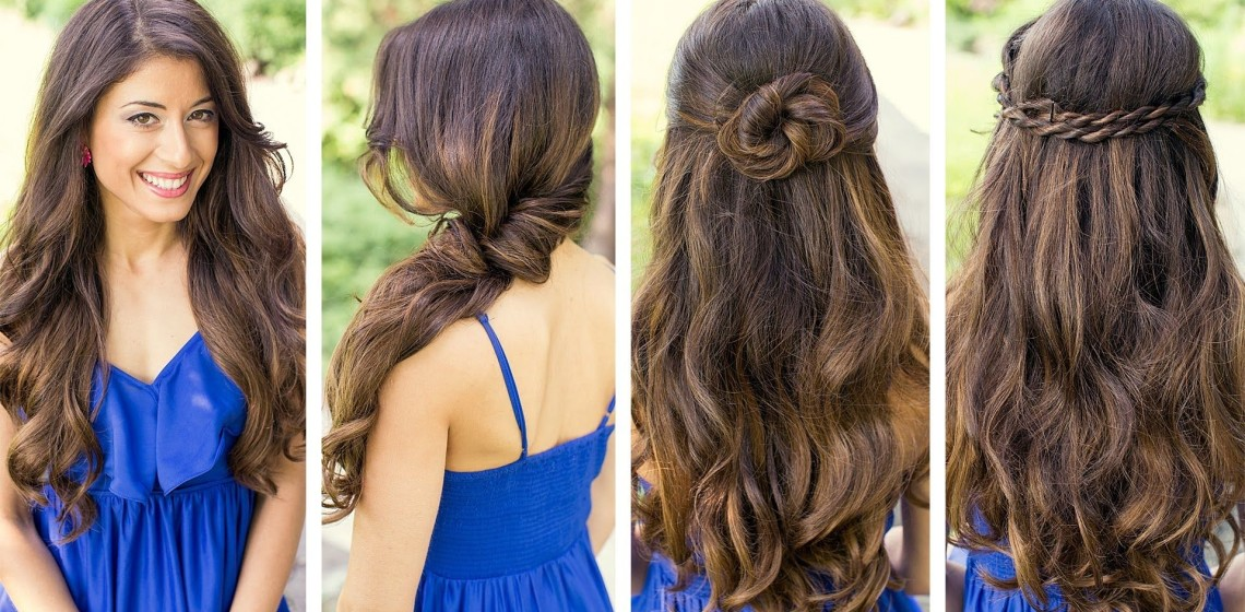 Греческие прически на длинные волосы