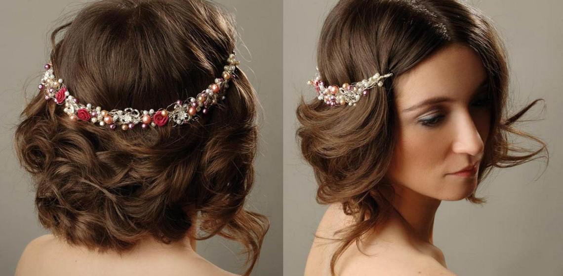 Прическа в греческом стиле на средние и короткие волосы