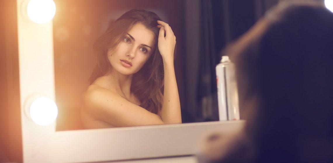 на средние волосы в домашних условиях