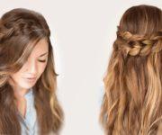 легкие прически на длинные волосы