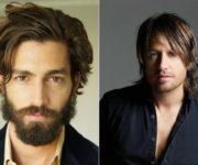 мужские прически на средние волосы