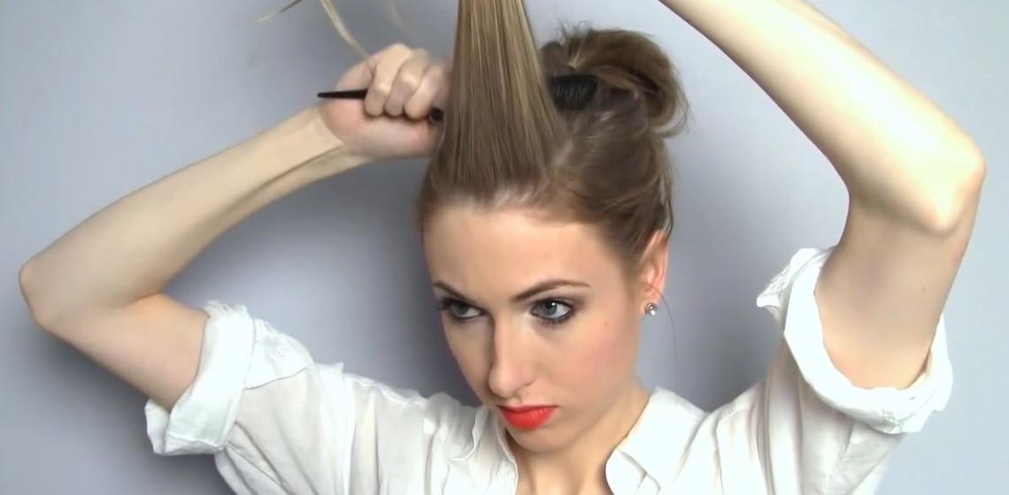 Прически с крабиком для волос