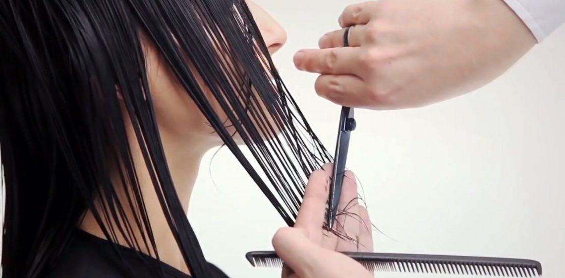 техника стрижки