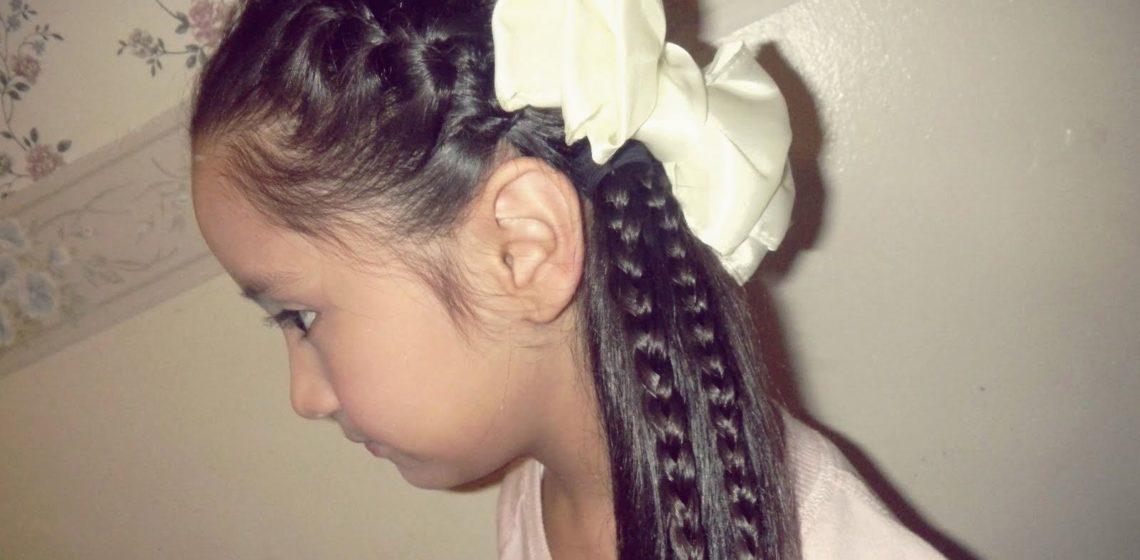 прически на длинные волосы на девочек